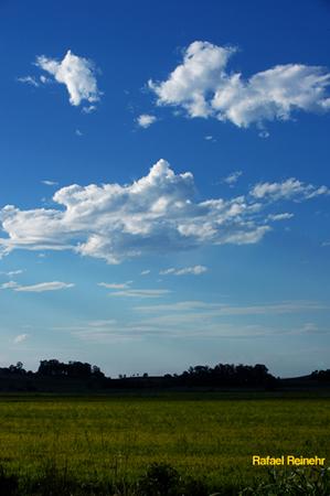 Lindo Céu Azuis