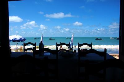Lagosta com vista para o mar