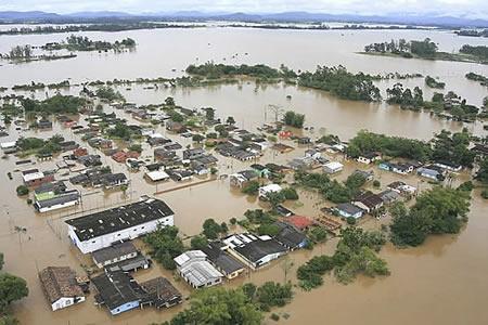 Araranguá a Nova Atlântida Araranguá debáixo da água