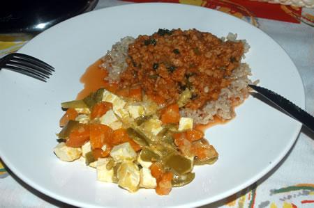 Jantar vegetariano