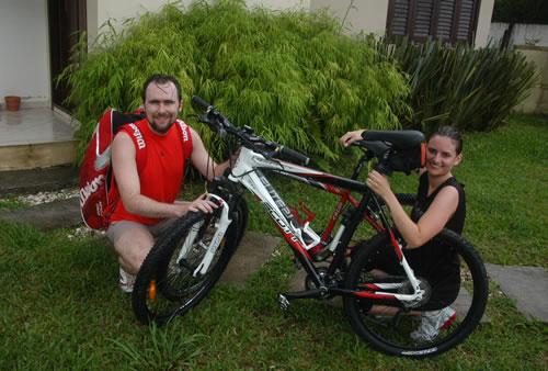 Primeira pedalada