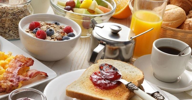 Café da manhã para comer com os olhos