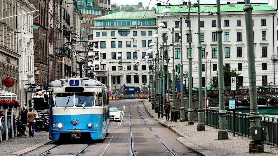 Coolmeia em Gotemburgo