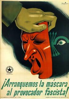 Cartaz da Revolução Civial Espanhola de 1936