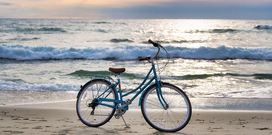 Bicicletas violetas
