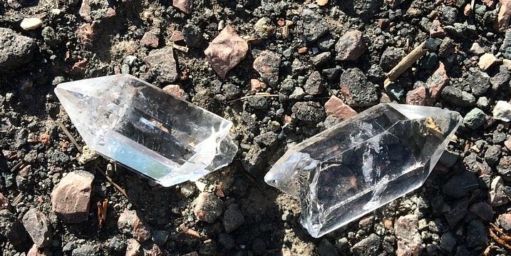 O que aconteceu com o cristal?