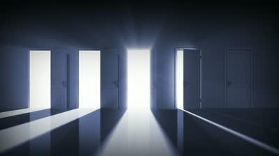 portas abrindo