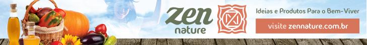 Banner da Zen Nature produtos orgânicos, sustentáveis e oriundos do comércio justo