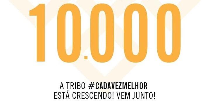 10 mil seguidores no instagram